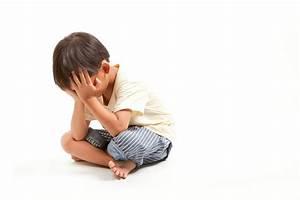 Angry sad child boy punishment ,solated on white ...
