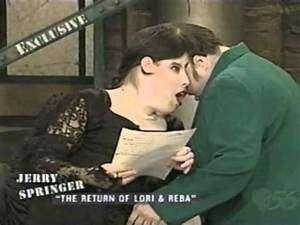 Lori and Reba Schappell on Jerry Springer - Part 5 of 6 ...