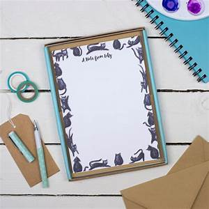 letter writing set writing paper gift for her gift for With letter writing gift set