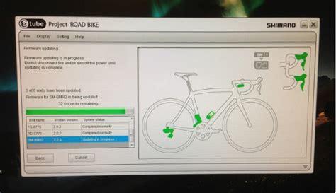 Shimano Di2 E-tube Software In Lbw