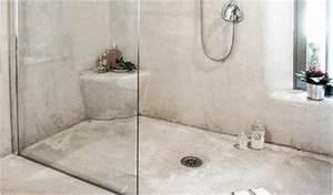 Béton Ciré Sur Faience Salle De Bain. beton cire salle de bain sur ...