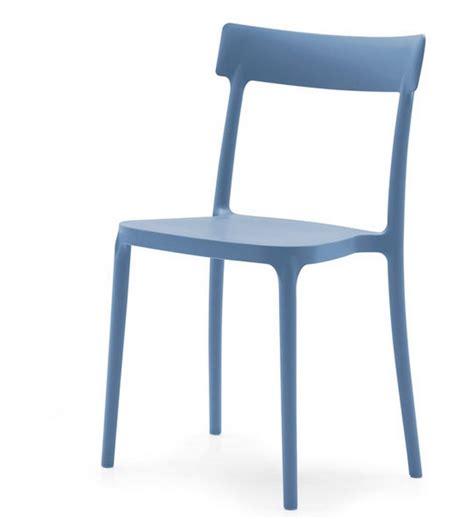 sedia di plastica sedia in polipropilene impilabile argo di connubia calligaris