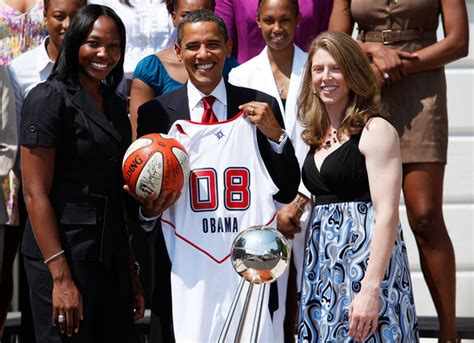 Katie Smith In President Obama Meets With Wnba Champions
