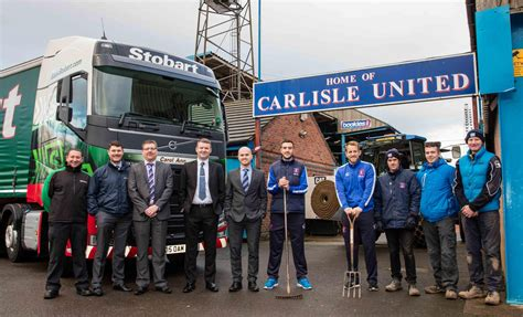 Carlisle United football club welcomes very special ...