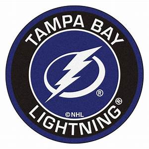 FANMATS NHL Tampa Bay Lightning Black 2 ft 3 in x 2 ft