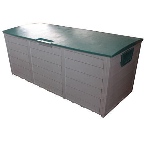 ★new Garden Outdoor Plastic Storage Chest Shed Box Case