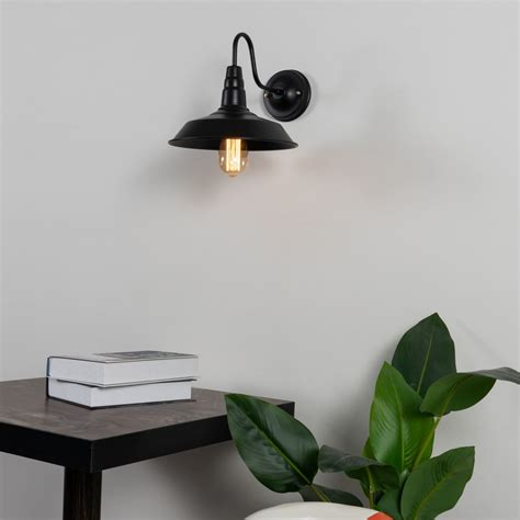black industrial wall light for kitchen xena kosilight