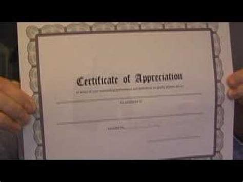 printable certificates   computer   youtube