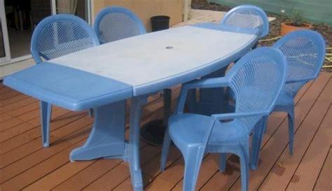 chaise de jardin bleu marine emejing table de jardin plastique bleu marine gallery