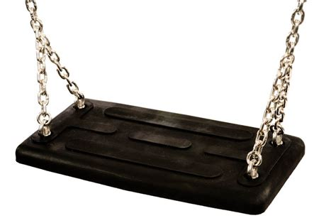 siege balancoire siège de balançoire standard noir avec chaines pièces détachées catalogue kinderland