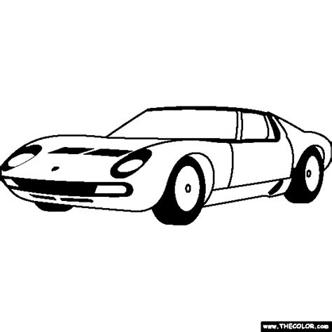 Kleurplaat Lamborghini Sesto Elemento by Coloring Pages Starting With The Letter L