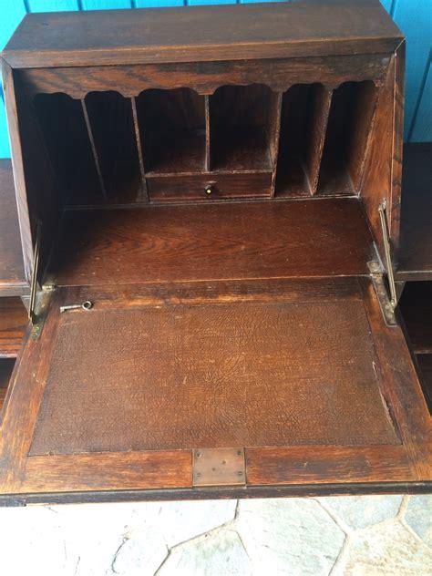 drop front desk lock drop front oak lock key desk