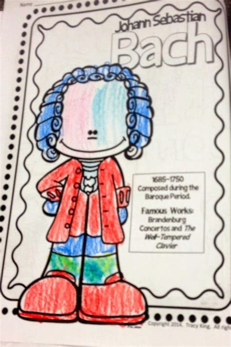 Coloring Composers | Elementary music, Teaching music, Diy ...