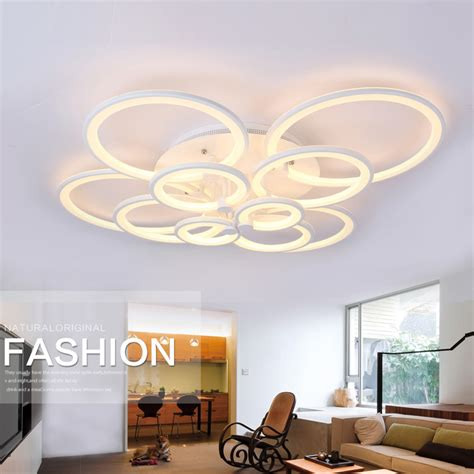 remote modern led ceiling lights acrylic l
