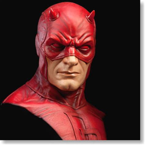 marvel daredevil life size bust hobbysearch anime robot