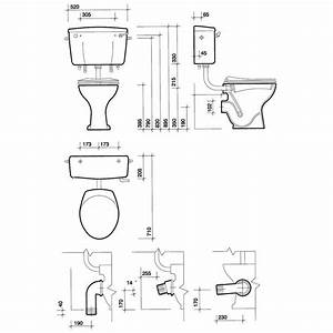 Twyford Classic Low Level Horizontal Outlet Toilet Pan