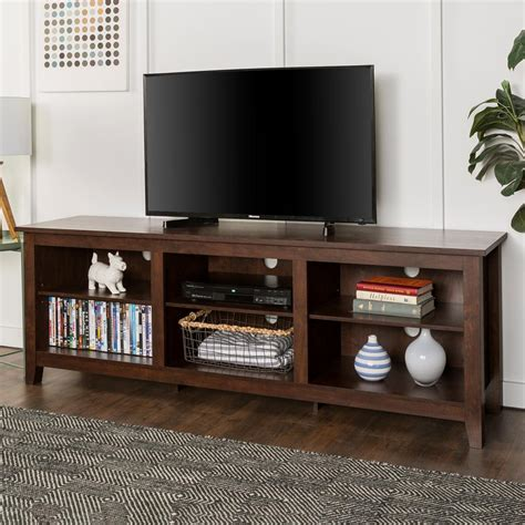 white tv stand with storage walker edison furniture company 70 in wood media tv stand 1880