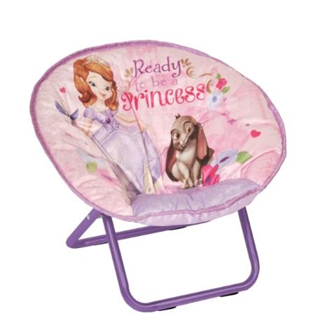 disney sofia the toddler saucer chair