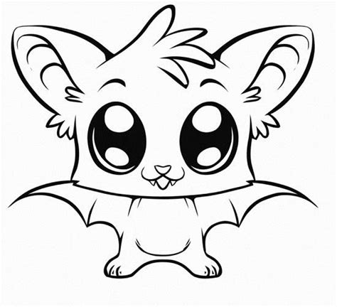 cute coloring pages of animals   Cute Kawaii Resources