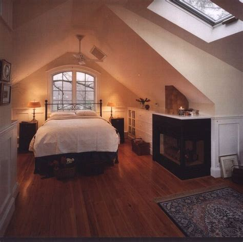 Awesome Attic Loft Bedroom by Awesome Attic Master Bedroom With Wood Furniture 34