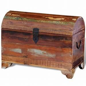 Truhe Aus Holz : truhe aufbewahrungsbox holztruhe aus recyceltem holz ~ Whattoseeinmadrid.com Haus und Dekorationen