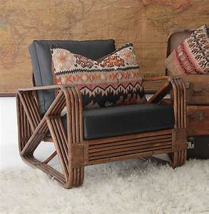 style 473 collection split cane daybed split cane With recover rattan furniture