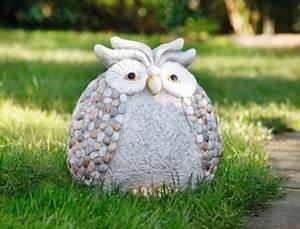 Stein Deko Garten : deko figur stein eule fieberglas ton garten terrasse ~ Whattoseeinmadrid.com Haus und Dekorationen