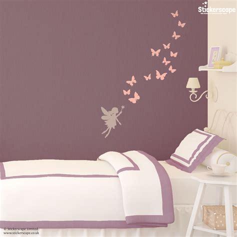 Fairies And Butterflies Wall Sticker  Stickerscape Uk