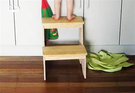 diy step stool myoutdoorplans  woodworking plans
