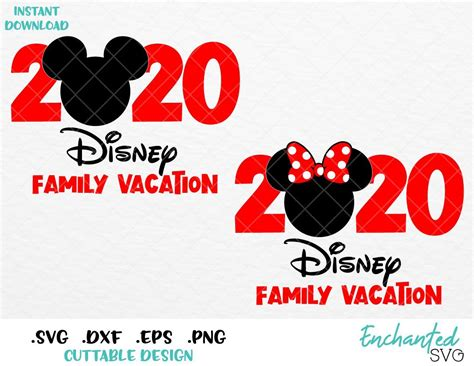 They are all fine for personal use (hello family shirt design for your trip to. Minnie and Mickey Mouse Disney Vacation 2020 Inspired SVG ...