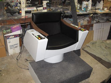 trek captains chair modeler s miniatures magic