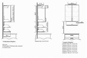 hauteur meuble haut cuisine luxe photos meuble cuisine With hauteur meubles haut cuisine