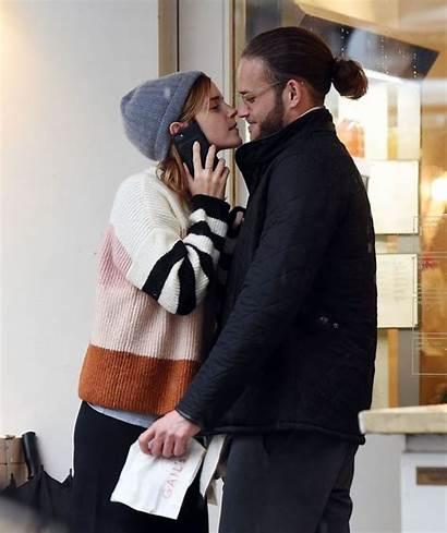 Watson Emma Leo Boyfriend Robinton Kissing London