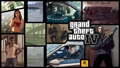 Theft Grand Gta Iv Wallpapers Games Walldiskpaper