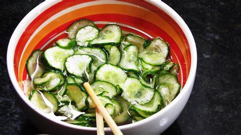 sunomomo salada de pepino agridoce japones super simples