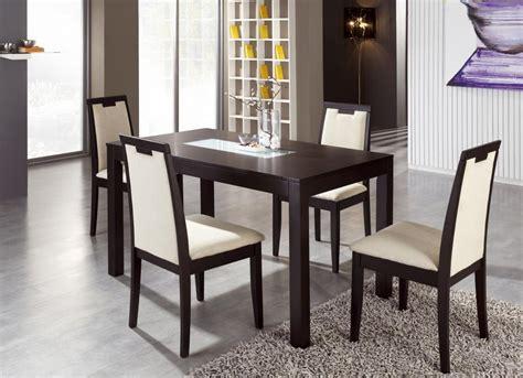 mesa  sillas wengue muebles franco