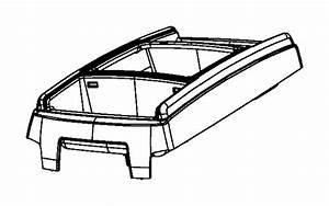 Dodge Grand Caravan Console  Center   Med Slate Gray  Lt Shale   Trim   All Trim Codes  Color