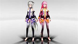 Tda models • Yowane Haku and Megurine Luka Append...