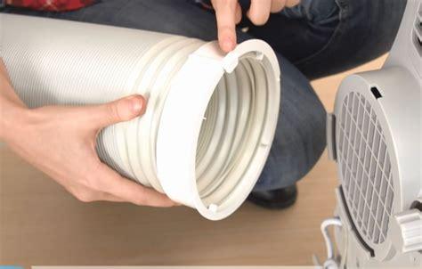 install portable air conditioner portable ac installation manual