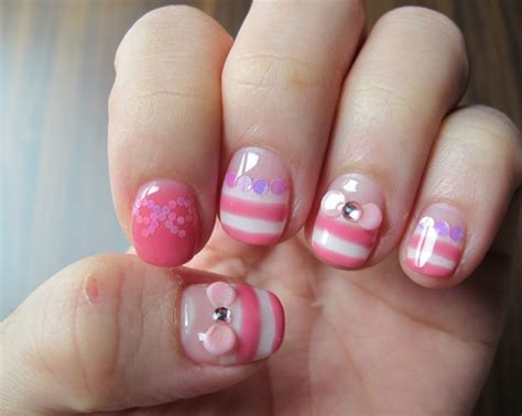 Nail Art For Kids With Short Nails For Beauties