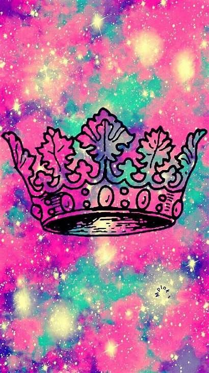 Girly Wallpapers Iphone Crown Backgrounds Galaxy Queen