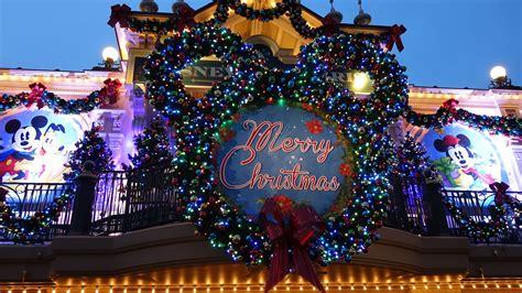 christmas special  disneyland paris youtube