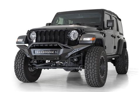jeep jljt  rubicon stealth fighter full length front bumper  top hoop add