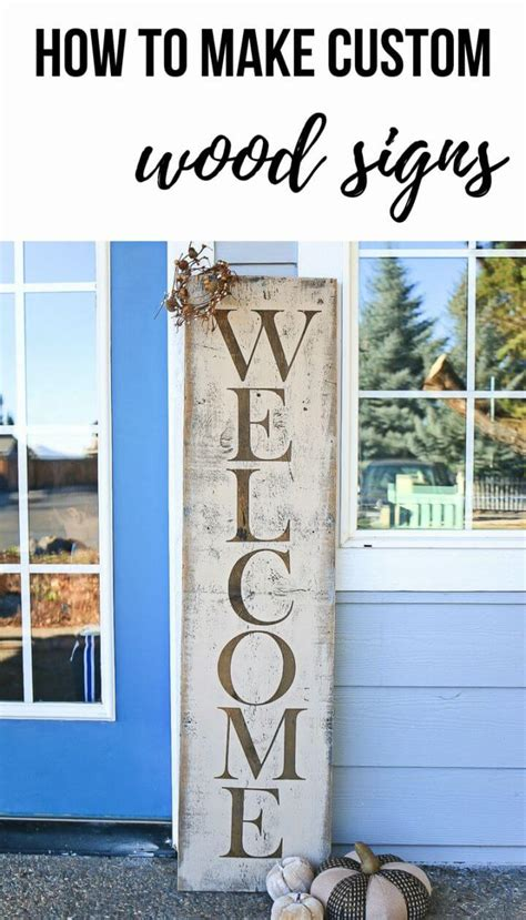 beautiful diy  signs   front porch diy