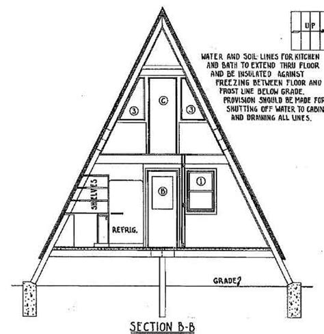 free a frame house plans a frame house plan with deck