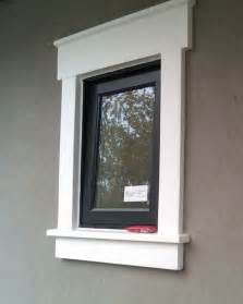 Exterior Stucco Window Trim