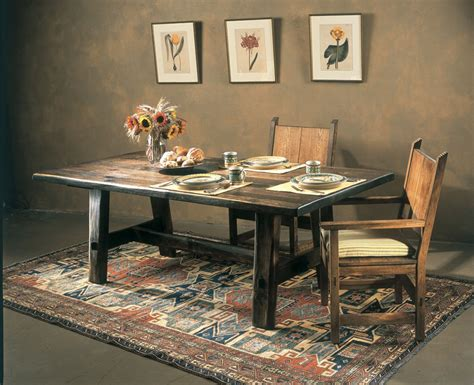 rustic dining room table for new rustic dining room tables ideas amaza design 9263