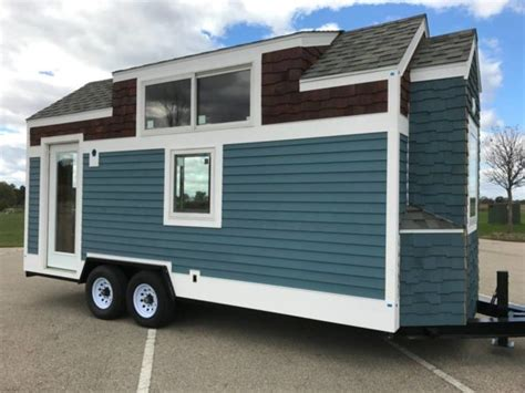 awesome driftless 20 tiny house shell for sale 35k