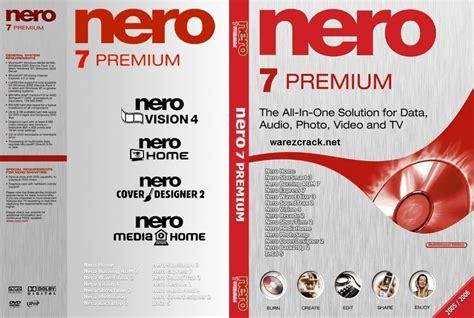 nero  premium serial number crack full version