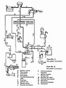 Volvo 244  1989  - Wiring Diagrams - Fuel Controls